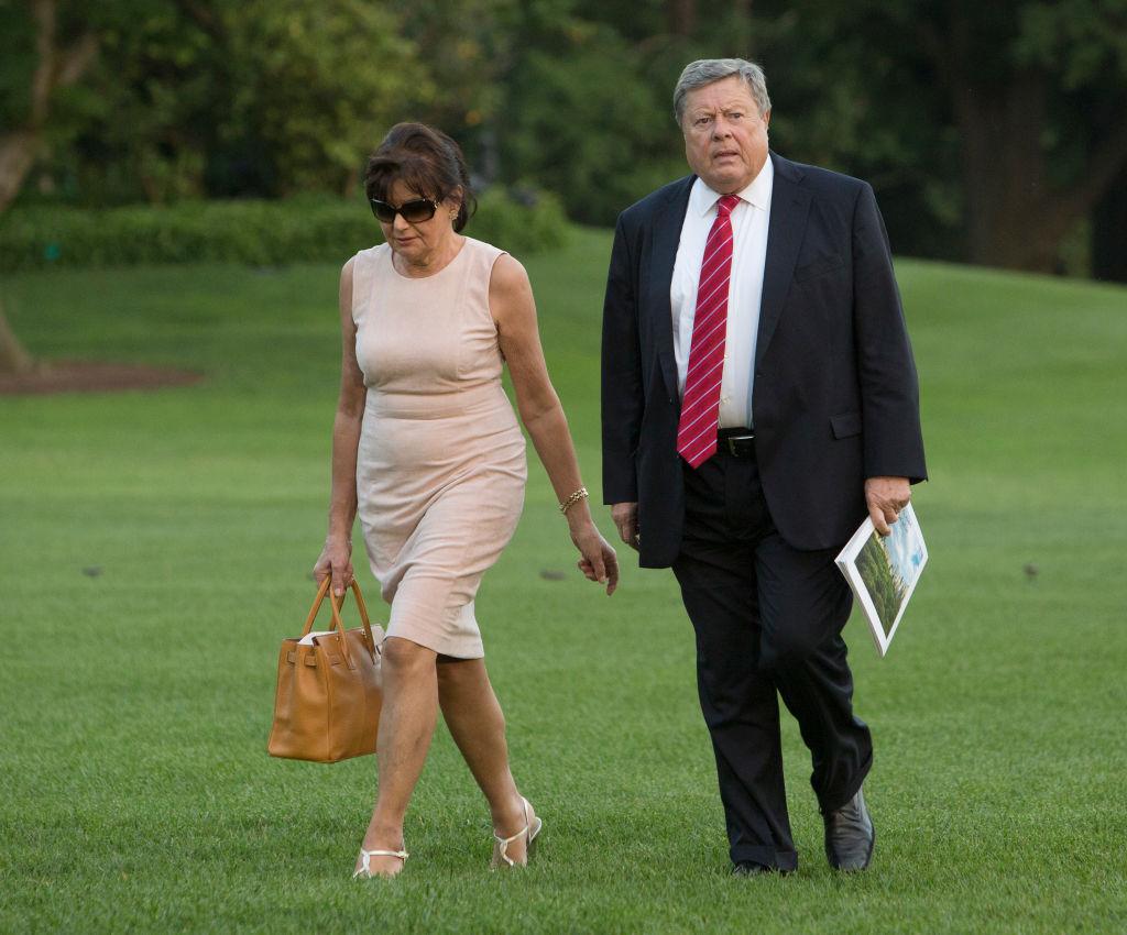 Viktor Knavs and Amalija Knavs, parents of U.S. first lady Melania Trump