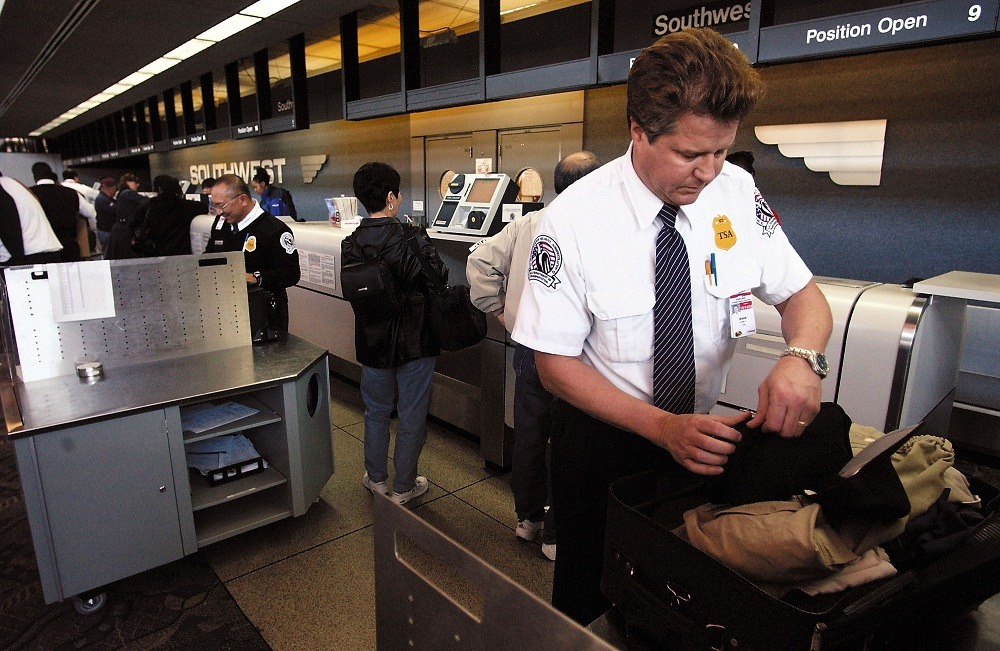 Transportation Security Administration employee at Oakland International Airport
