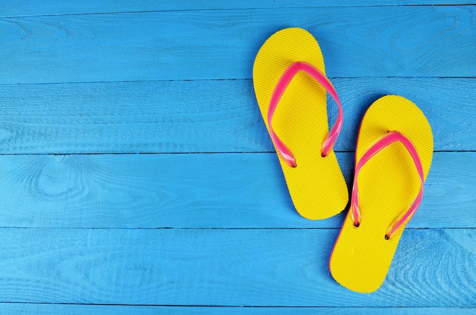 Flip Flops Yellow