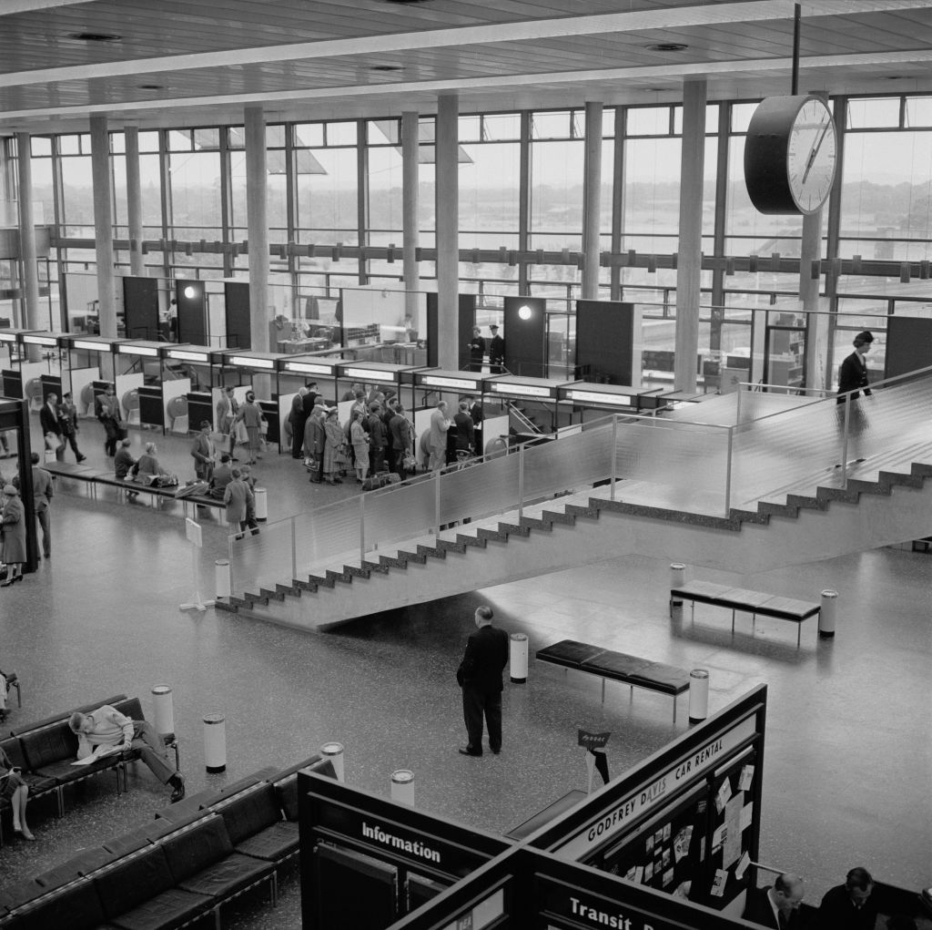 Gatwick Airport in the 1960s