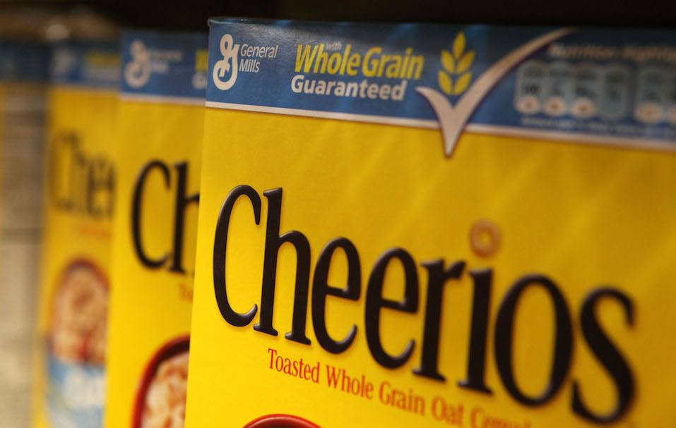 General Mills Inc. reported a 51 percent jump in first quarter profits with earnings of $420.6 million