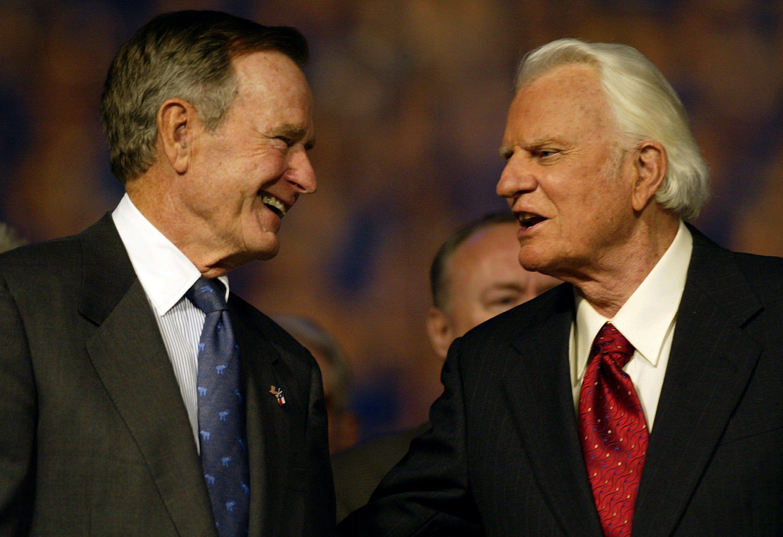 Billy Graham George H.W. Bush