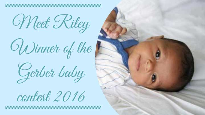 Riley Gerber baby 2017