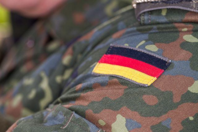 A German soldier's military patch.