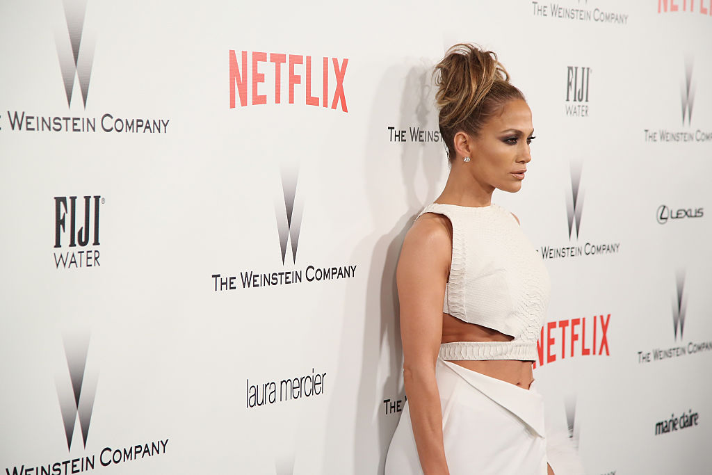 Actress/singer Jennifer Lopez attends The Weinstein Company & Netflix's 2015 Golden Globes After Party presented by FIJI Water, Lexus, Laura Mercier and Marie Claire at The Beverly Hilton Hotel on January 11, 2015 in Beverly Hills, California.