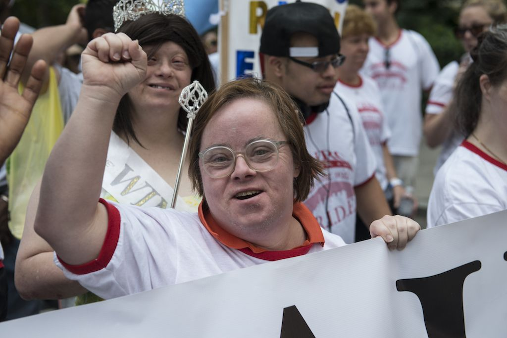 first annual Disability Pride Parade