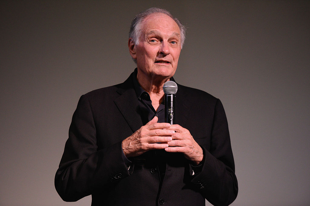 Actor Alan Alda speaks during 'Bridge Of Spies' Q&A on Day 5 of the 23rd Annual Hamptons International Film Festival on October 12, 2015 in East Hampton, New York.