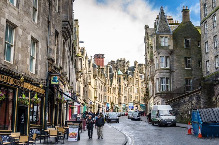Edinburgh, Scotland, city center