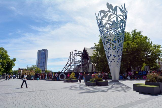 The Chalice in Cathedral Square, Christchurch