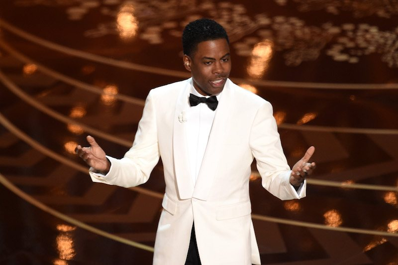 HOLLYWOOD, CA - FEBRUARY 28: Host Chris Rock speaks onstage during the 88th Annual Academy Awards at the Dolby Theatre on February 28, 2016 in Hollywood, California. (Photo by Kevin Winter/Getty Images)