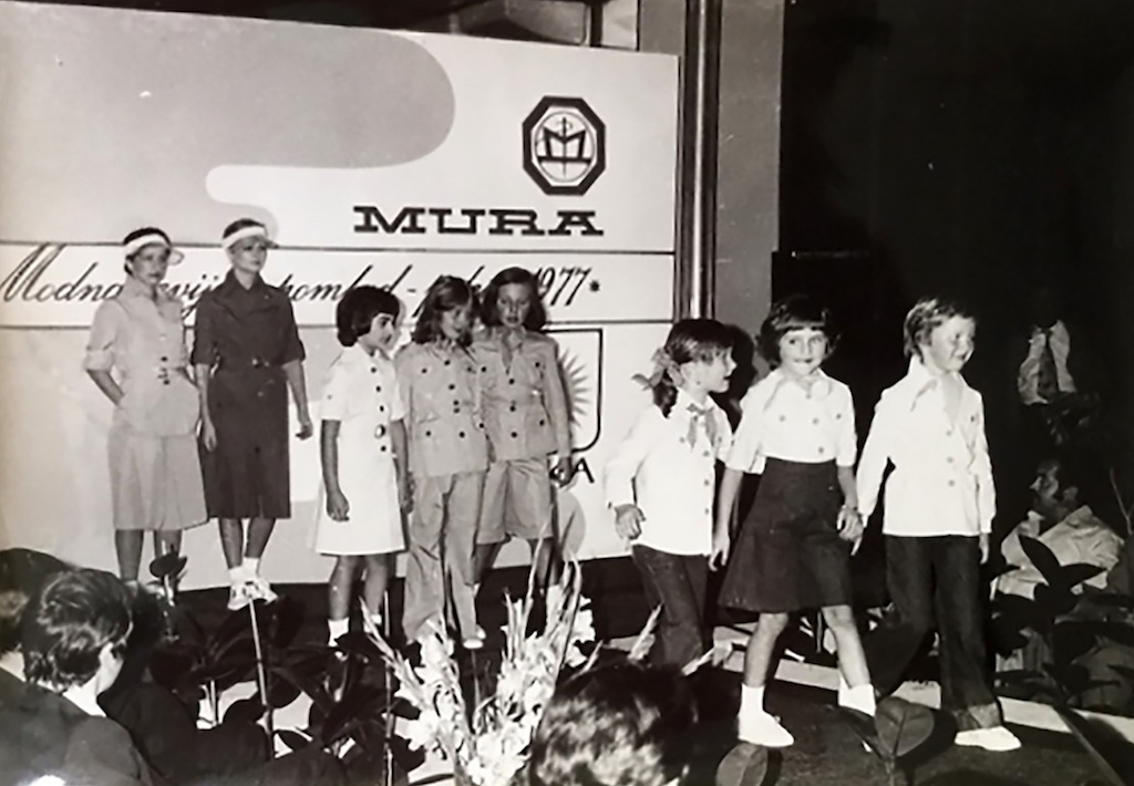 Melania Trump in 1977