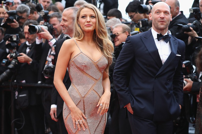 """CANNES, FRANCE - MAY 11: Actors Blake Lively and Corey Stoll attend the """"Cafe Society"""" premiere and the Opening Night Gala during the 69th annual Cannes Film Festival at the Palais des Festivals on May 11, 2016 in Cannes, France. (Photo by Andreas Rentz/Getty Images)"""