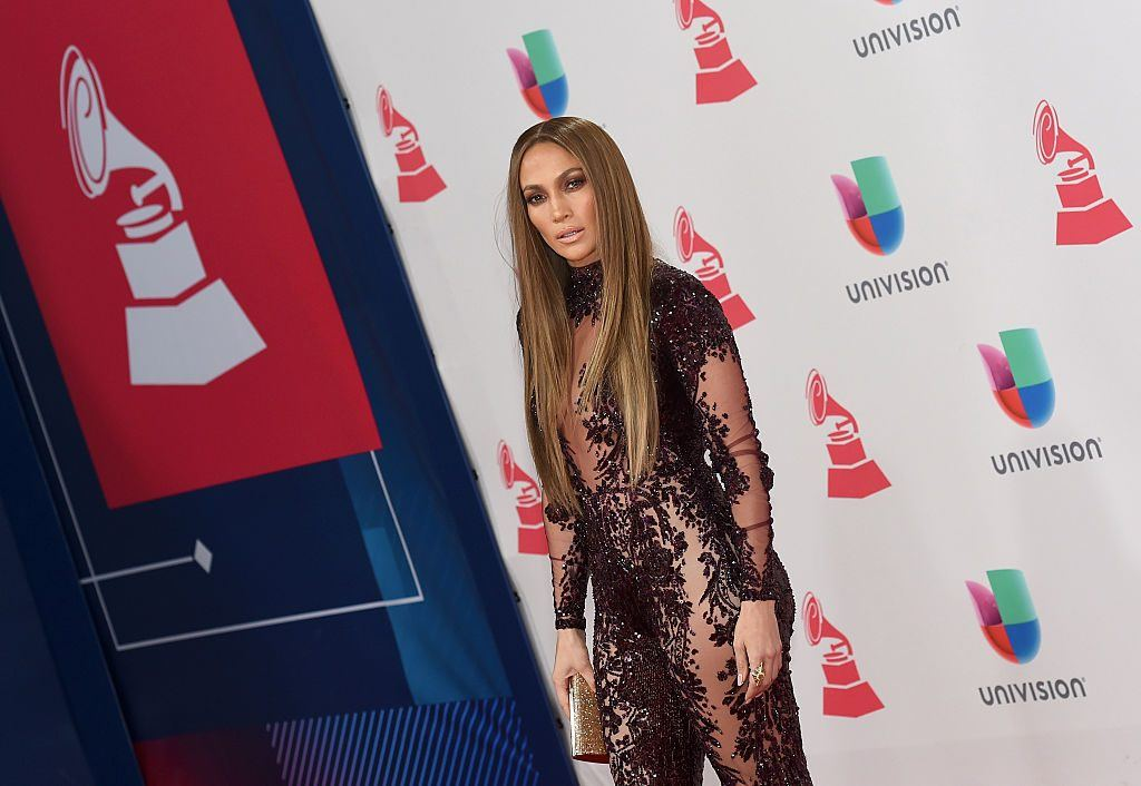 Singer/actress Jennifer Lopez attends the 17th annual Latin Grammy Awards on November 17, 2016 in Las Vegas, Nevada.