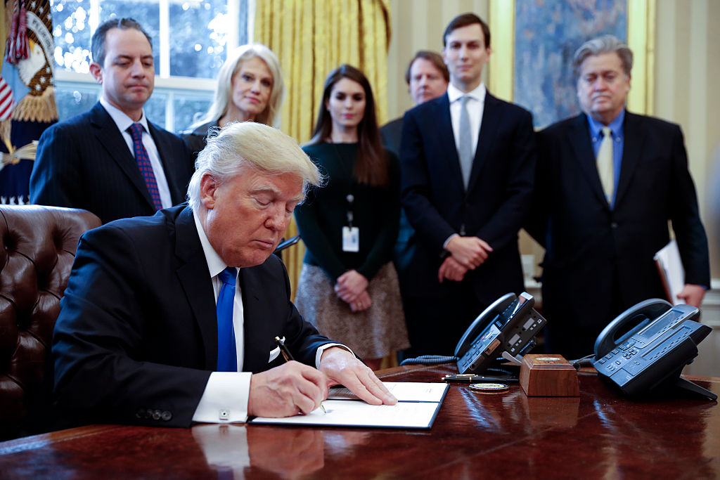 Trump signs bills
