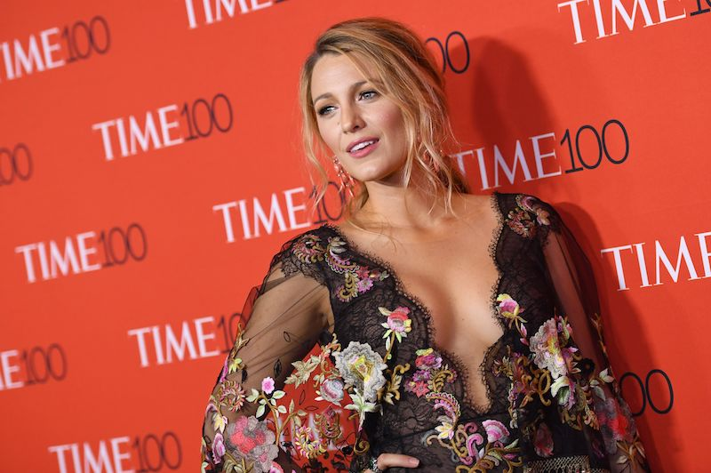 Blake Lively attends the 2017 Time 100 Gala at Jazz at Lincoln Center on April 25, 2017 in New York City. / AFP PHOTO / ANGELA WEISS (Photo credit should read ANGELA WEISS/AFP/Getty Images)