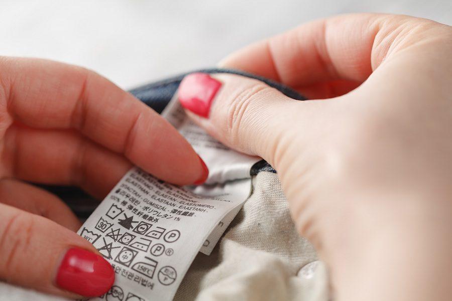 clothes label