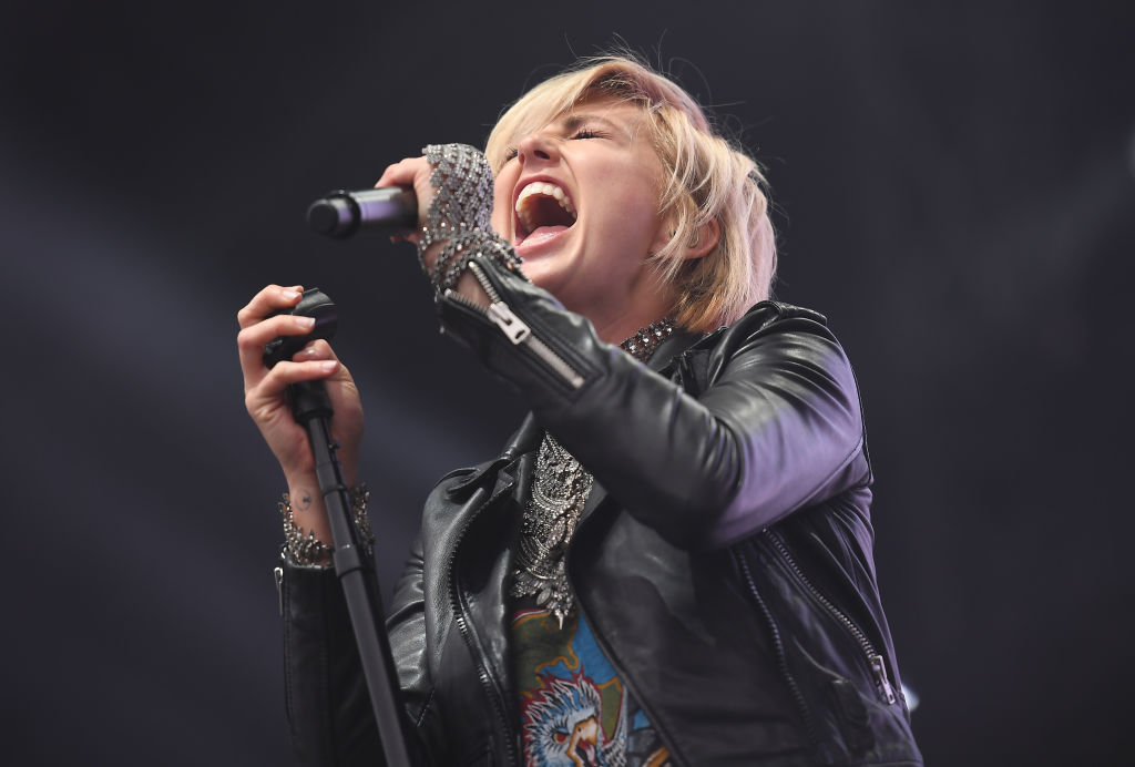 Barthel sings as one half of the duo Phantogram