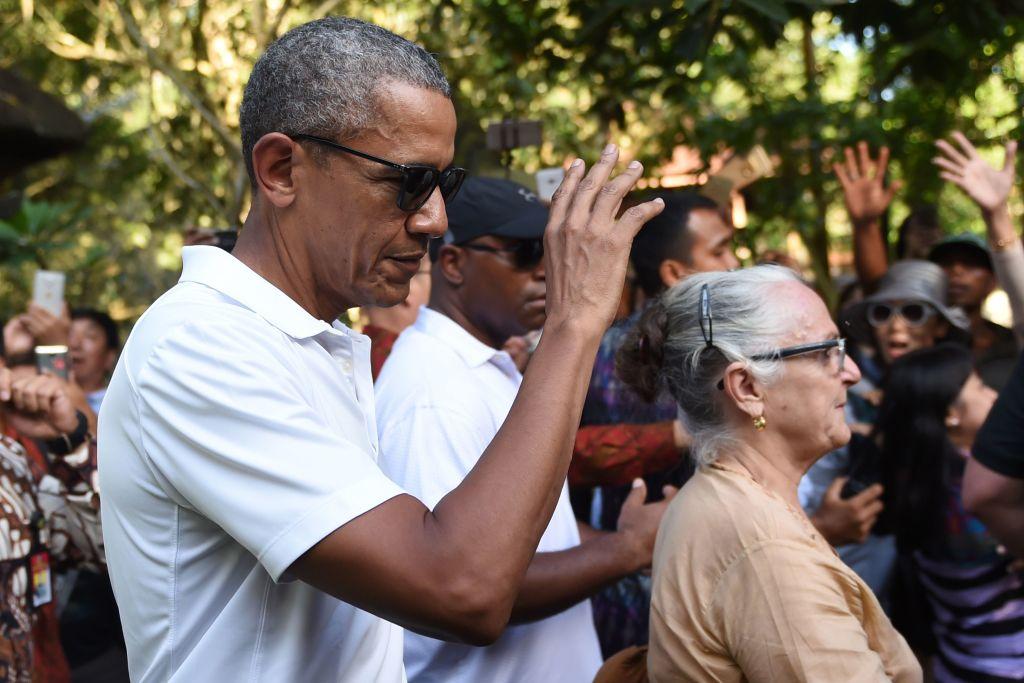 Barack Obama in Indonesia