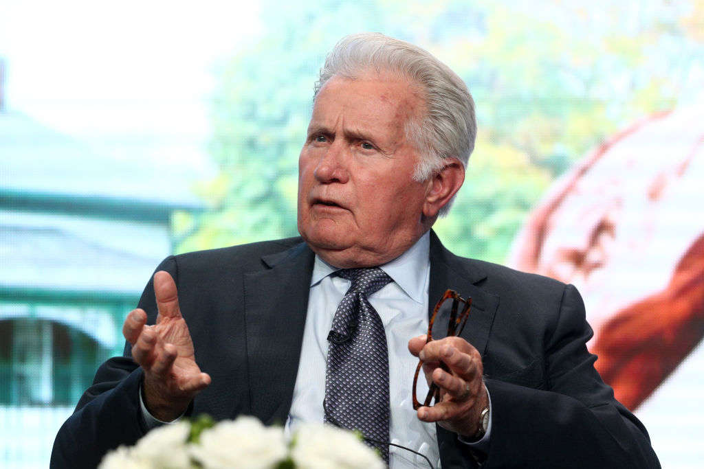 Actor Martin Sheen of 'Anne of Green Gables: The Good Stars' speaks onstage during the PBS portion of the 2017 Summer Television Critics Association Press Tour at The Beverly Hilton Hotel on July 31, 2017 in Beverly Hills, California.