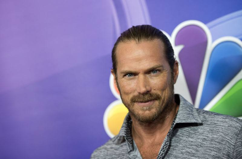 Actor Jason Lewis attends NBC TCA Summer Press Tour 2017 on August 3, 2017, in Beverly Hills, California. / AFP PHOTO / VALERIE MACON (Photo credit should read VALERIE MACON/AFP/Getty Images)