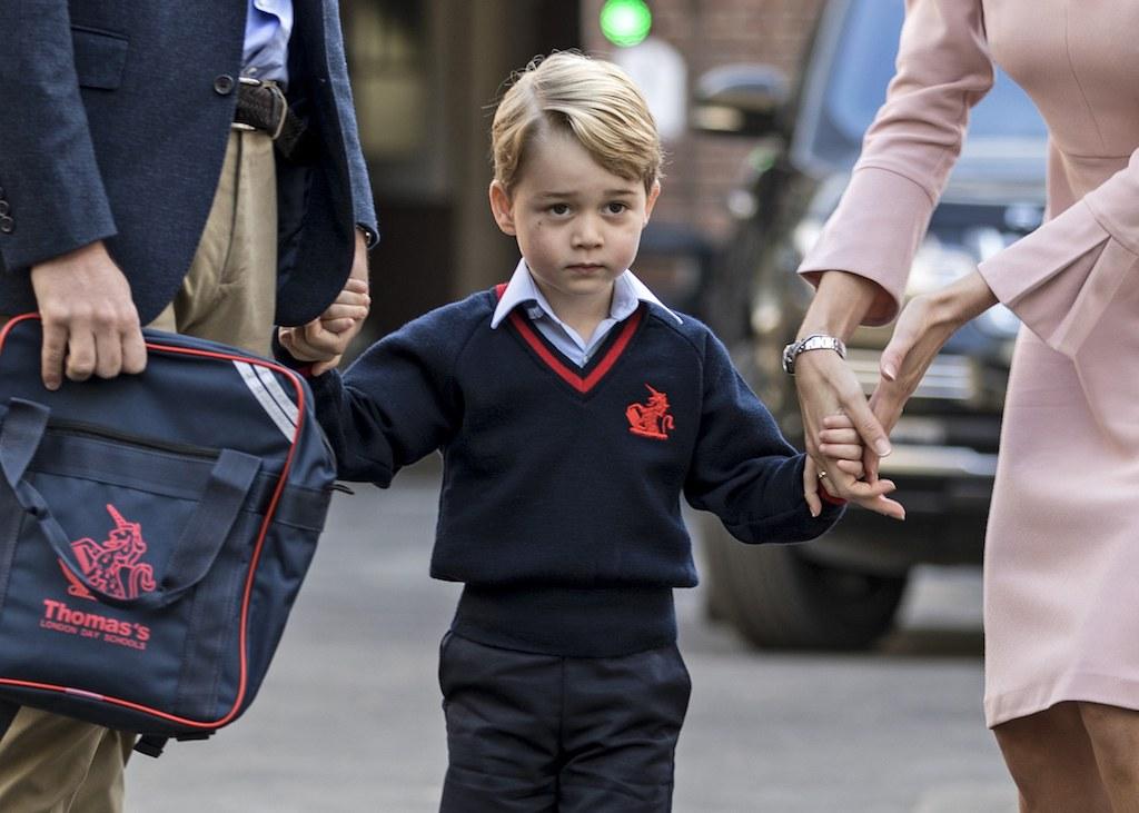 Britain's Prince George