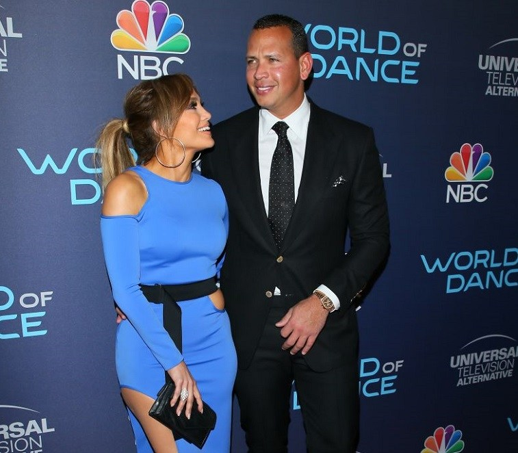 Jennifer Lopez and Alex Rodriguez attend the 'World of Dance Celebration', in Los Angeles, California, on September 19, 2017.