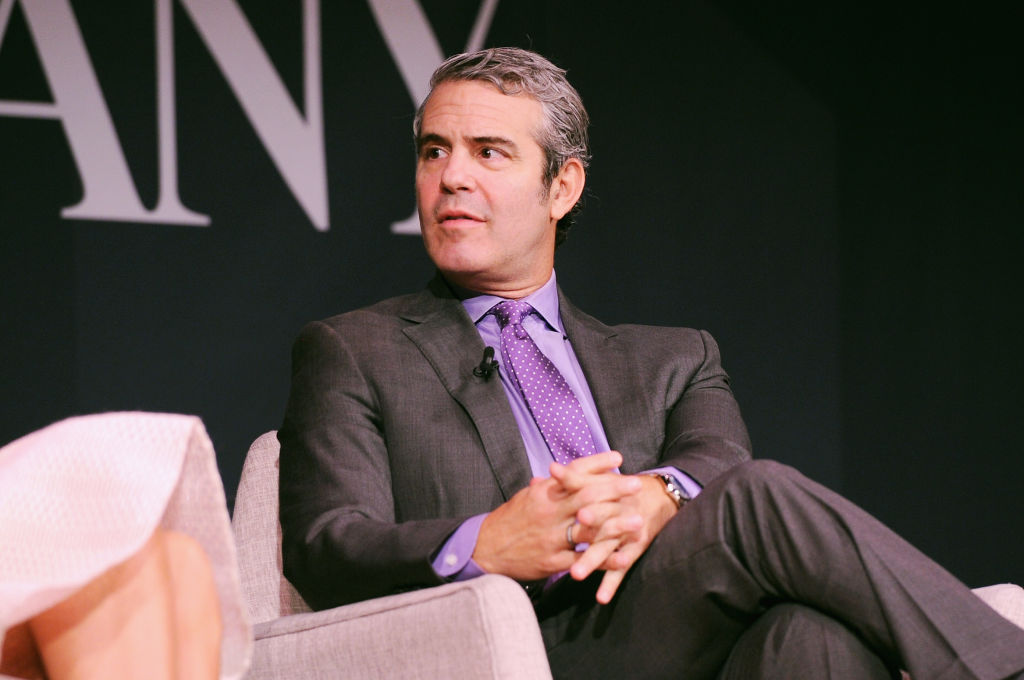 Andy Cohen speaks onstage at Andy Cohen and Cecile Richards on Activism, Pop Culture, and Why Authenticity Is The Only Way Forward during the Fast Company Innovation Festival at 92nd Street Y on October 24, 2017 in New York City.