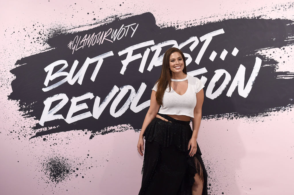 Model and host Ashley Graham during Glamour Celebrates 2017 Women Of The Year Live Summit at Brooklyn Museum on November 13, 2017 in New York City.