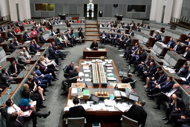 A vote takes place in the House of Representatives to amend the marriage equality bill.