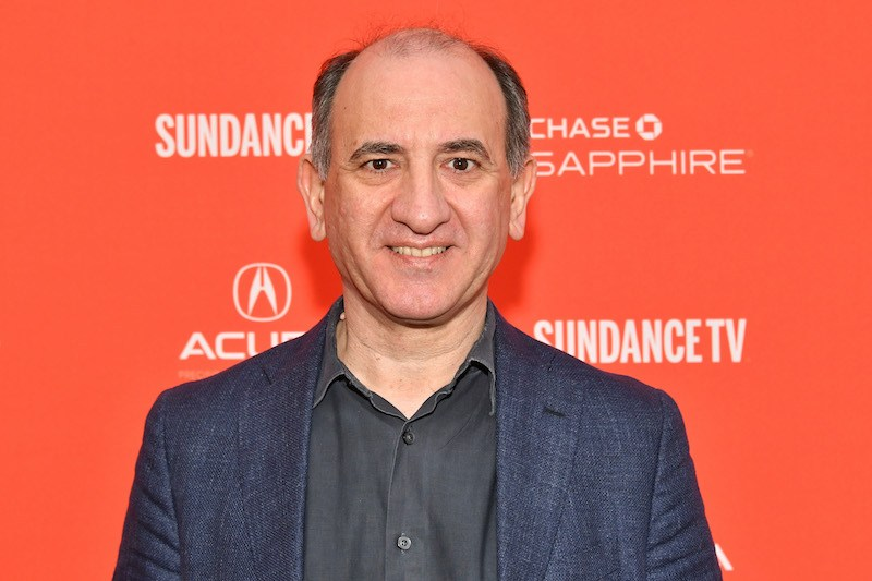 """PARK CITY, UT - JANUARY 20: Filmmaker Armando Iannucci attends the """"The Death Of Stalin"""" Premiere during the 2018 Sundance Film Festival at The Marc Theatre on January 20, 2018 in Park City, Utah. (Photo by Dia Dipasupil/Getty Images)"""