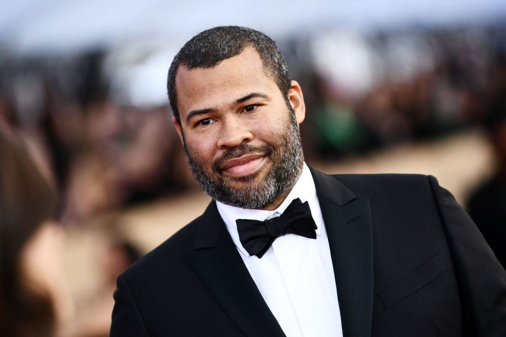 Jordan Peele attends the 24th Annual Screen Actors Guild Awards at The Shrine Auditorium on January 21, 2018 in Los Angeles, California for his film Get Out.