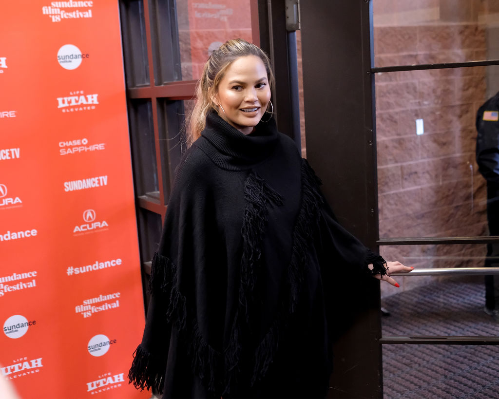 Chrissy Teigen attends the 'Monster' Premiere during the 2018 Sundance Film Festival at Eccles Center Theatre on January 22, 2018 in Park City, Utah.