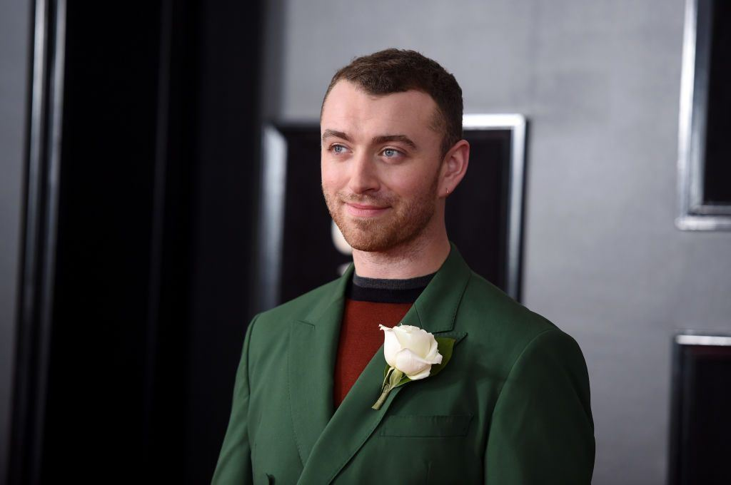 Recording artist Sam Smith attends the 60th Annual GRAMMY Awards at Madison Square Garden on January 28, 2018 in New York City.