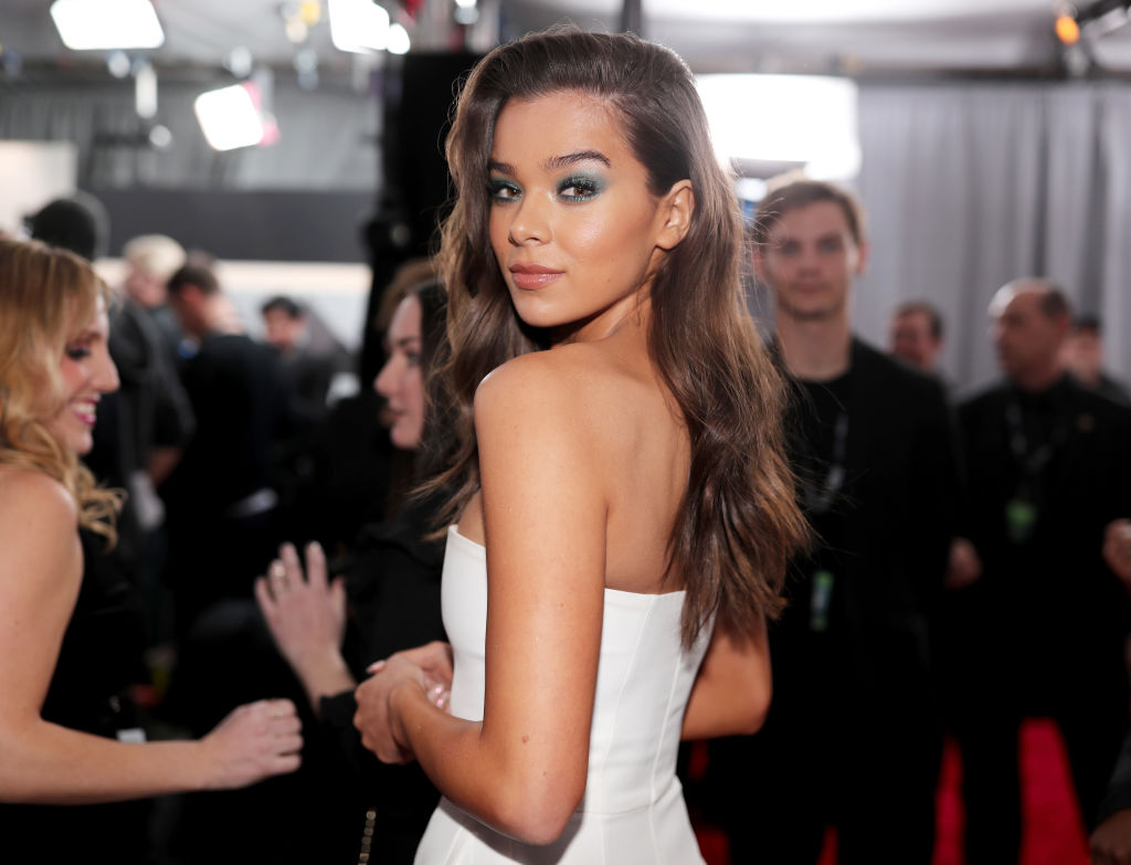 Recording artist/actor Hailee Steinfeld attends the 60th Annual GRAMMY Awards at Madison Square Garden on January 28, 2018 in New York City.