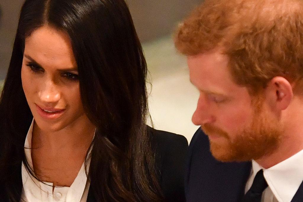 Prince Harry and fiance Meghan Markle
