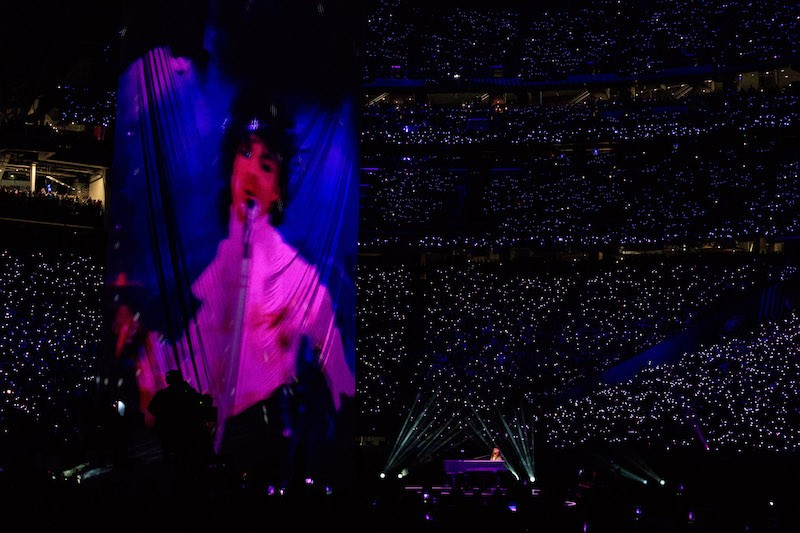 Recording artist Justin Timberlake performs onstage during the Pepsi Super Bowl LII Halftime Show