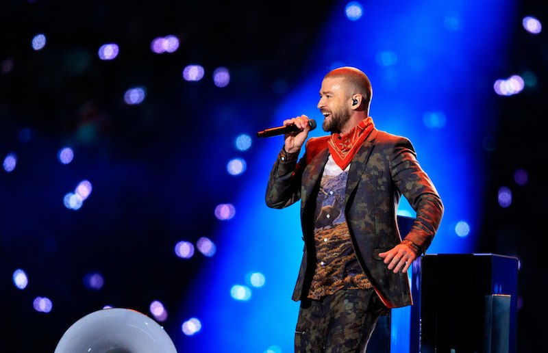 Recording artist Justin Timberlake performs onstage during the Pepsi Super Bowl LII Halftime Show at U.S. Bank Stadium on February 4, 2018 in Minneapolis, Minnesota.
