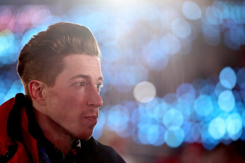 PYEONGCHANG-GUN, SOUTH KOREA - FEBRUARY 09: Shaun White of the United States look on during the Opening Ceremony of the PyeongChang 2018 Winter Olympic Games at PyeongChang Olympic Stadium on February 9, 2018 in Pyeongchang-gun, South Korea. (Photo by Clive Mason/Getty Images)