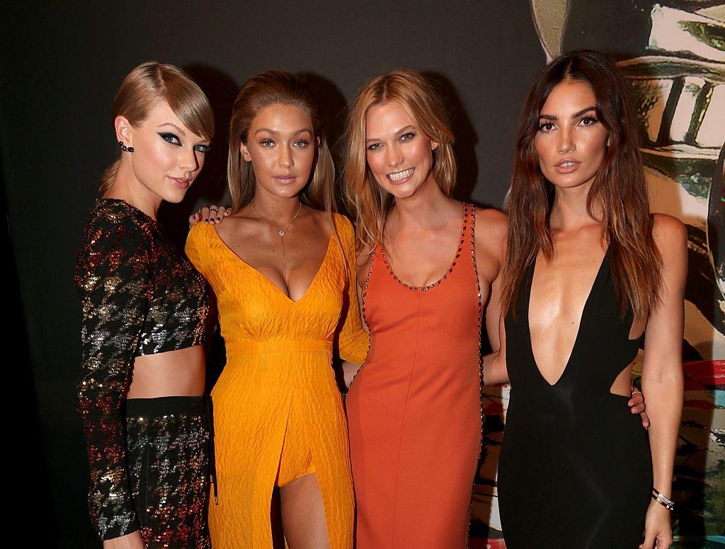 Taylor Swift, Gigi Hadid, Lily Aldridge, Karlie Kloss