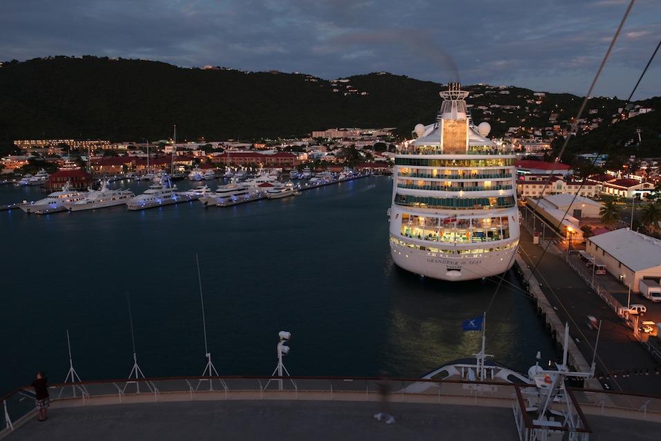 Grandeur Of The Seas at St. Thomas