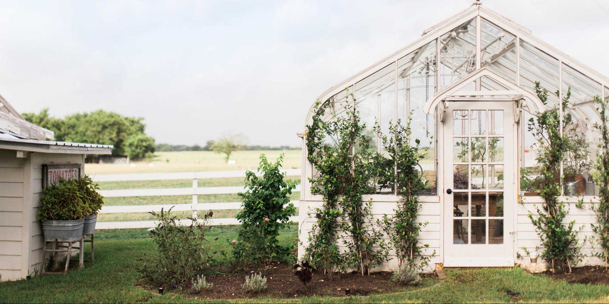 Chip And Joanna Gaines Garden Want A Backyard Greenhouse Like Joanna Gaines Here S How