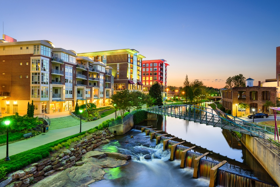 Greenville, South Carolina Cityscape