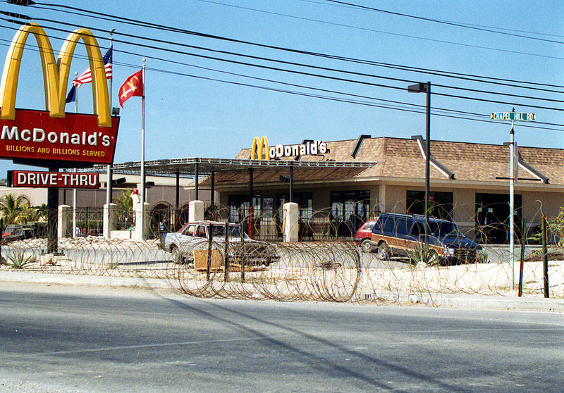 Guantanamo Bay McDonald's
