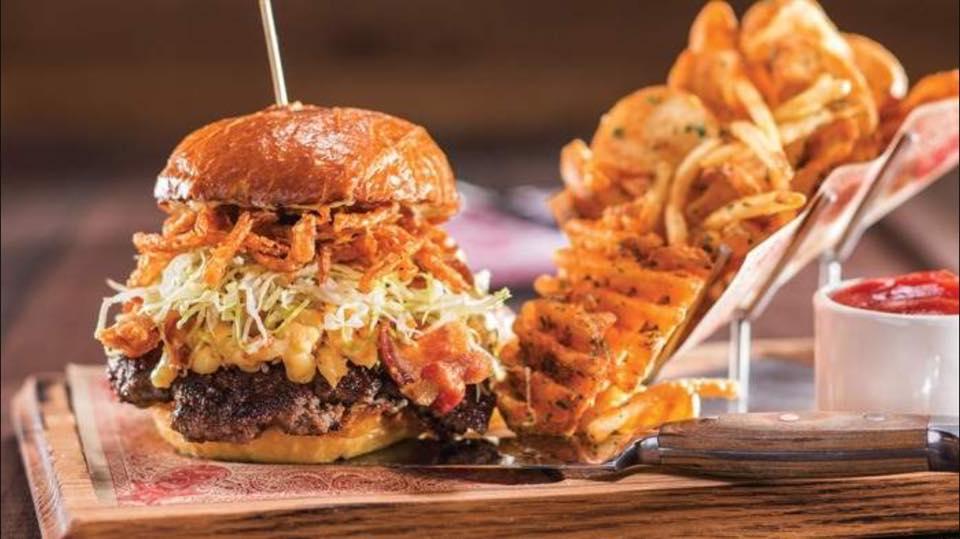 Guy's American Kitchen & Bar burger