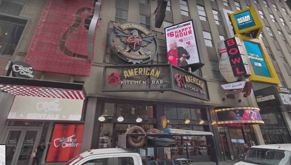 Guy's American Kitchen & Bar restaurant