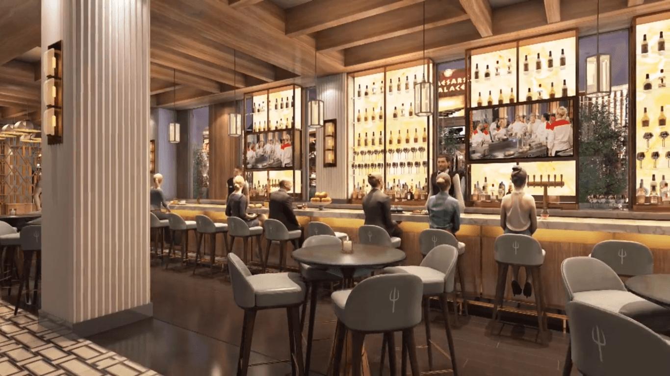 Hell's Kitchen Gordon Ramsay bar