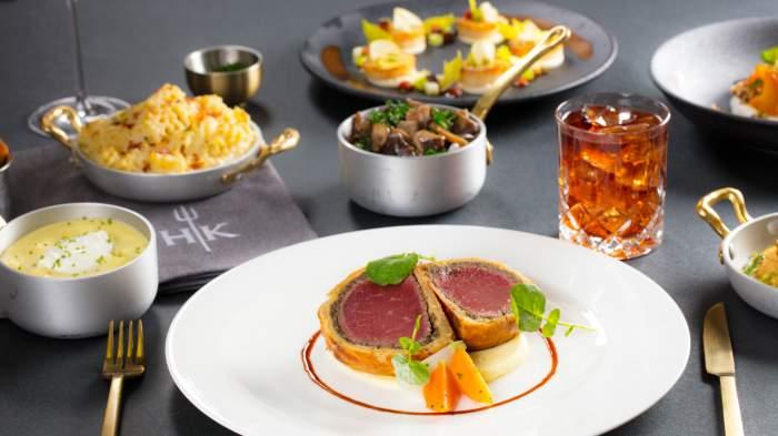 Hell's Kitchen Gordon Ramsay dinner