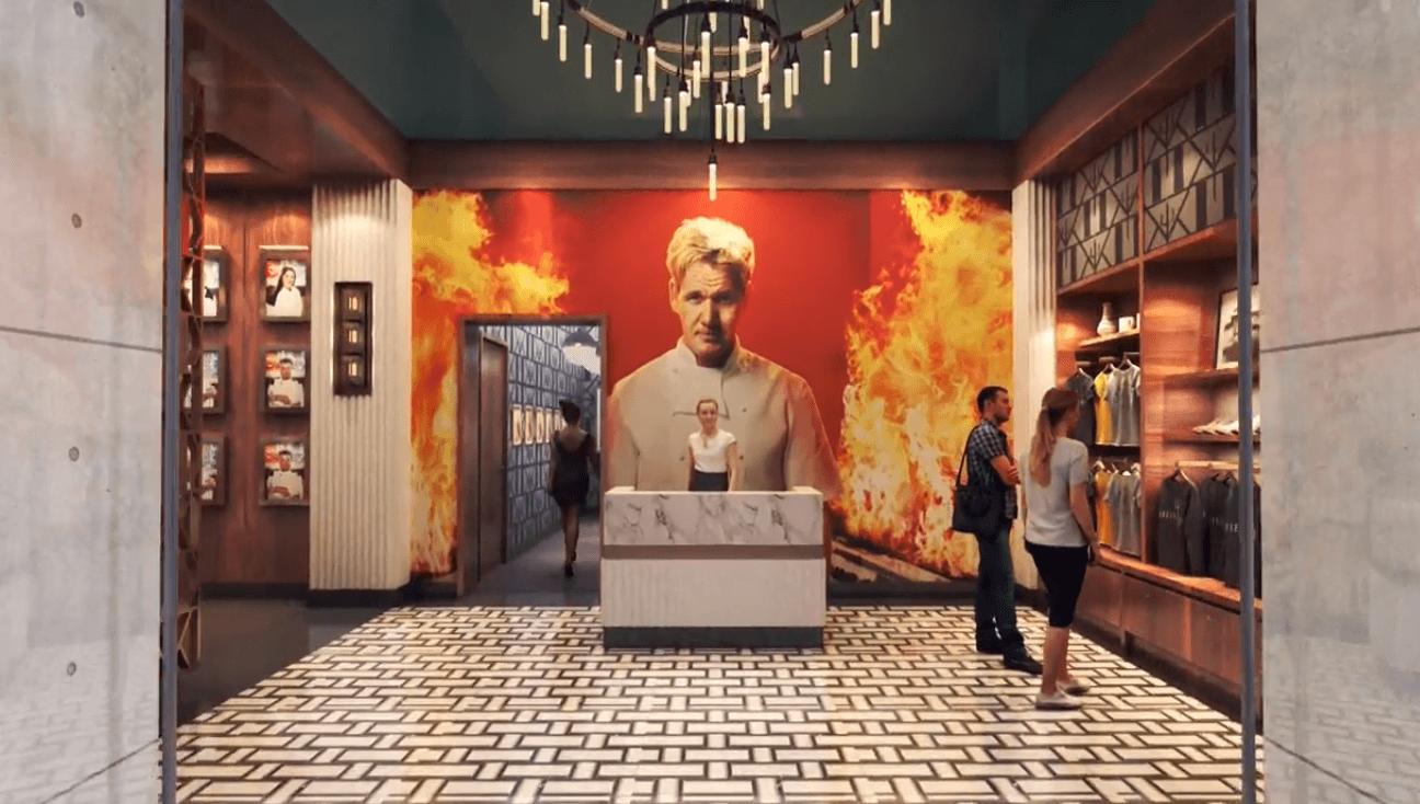 Hell's Kitchen Gordon Ramsay gift shop
