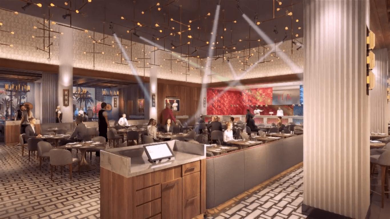 Hell's Kitchen Gordon Ramsay interior