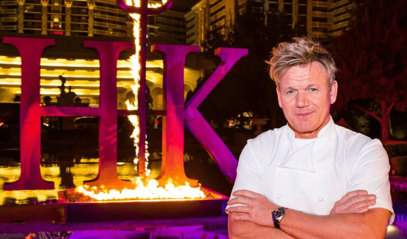 Hell's Kitchen Gordon Ramsay